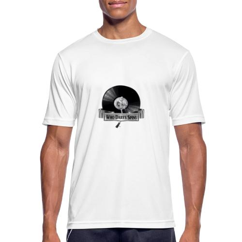 WHO DARES SPINS - Men's Breathable T-Shirt