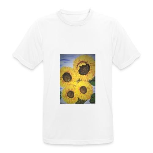 SonnenblumeIMG 20180815 090758 - Männer T-Shirt atmungsaktiv