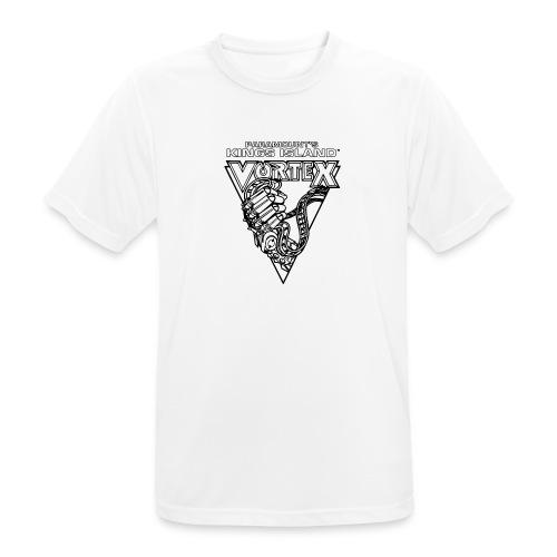 Vortex 1987 2019 Kings Island - miesten tekninen t-paita