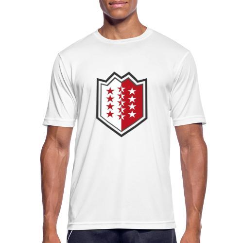 Bouclier moderne du Valais - Männer T-Shirt atmungsaktiv