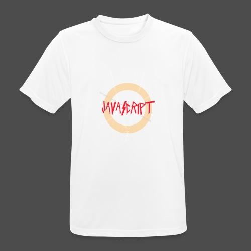 Javascript metal t-shirt - Mannen T-shirt ademend