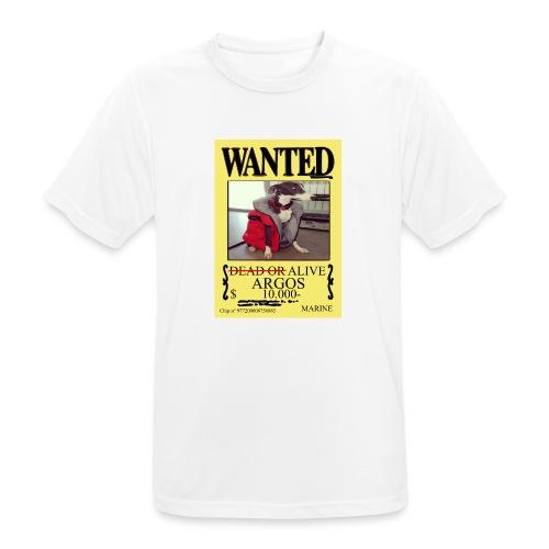 #dóndeestáargos ARGOS ver.wanted - Camiseta hombre transpirable