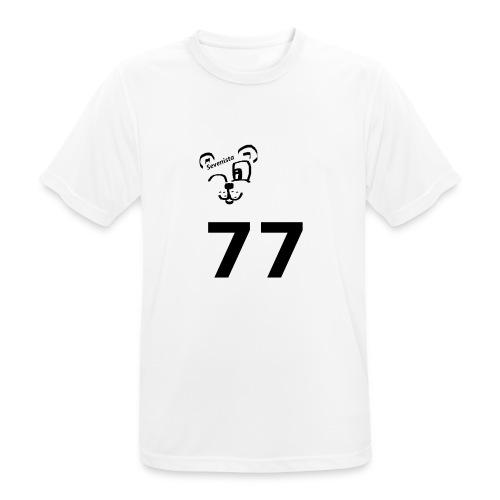 77 for the win - Männer T-Shirt atmungsaktiv