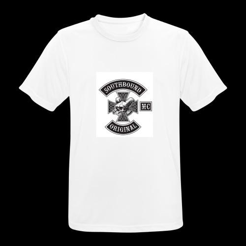 SOUTHBOUND - miesten tekninen t-paita