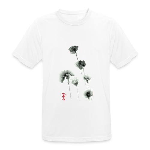 Fleurs Noires - Jack M. - T-shirt respirant Homme