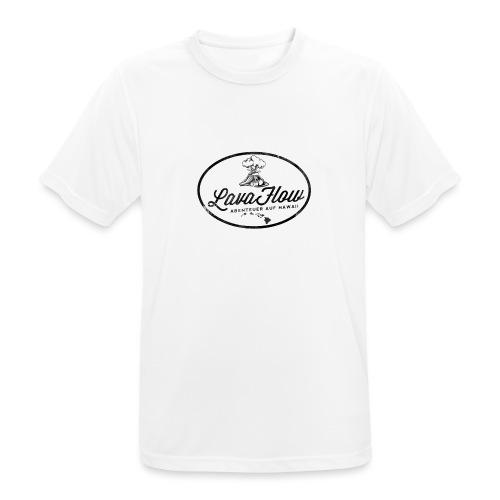 Hawaii Lavaflow Vintage - Männer T-Shirt atmungsaktiv