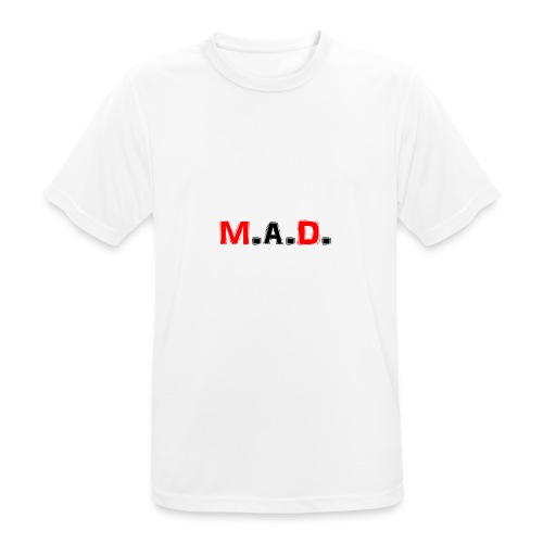 MAD logo - Men's Breathable T-Shirt