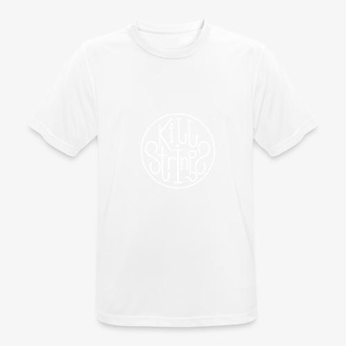 Kill Strings Logo - Männer T-Shirt atmungsaktiv