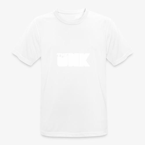 The Unk Wit Zonder Border - mannen T-shirt ademend