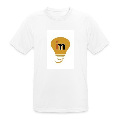 Ideeinmovimento - Maglietta da uomo traspirante