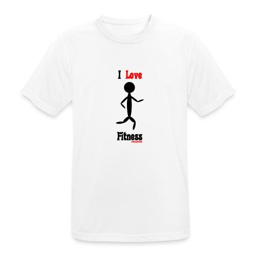 Fitness #FRASIMTIME - Maglietta da uomo traspirante