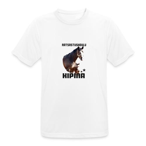 Kipinän t-paita - miesten tekninen t-paita