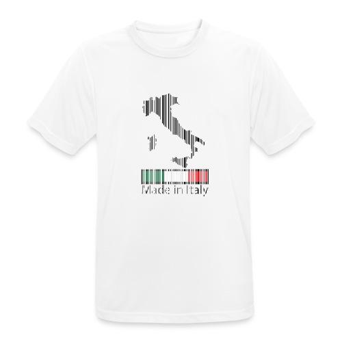 Made in Italy - Maglietta da uomo traspirante