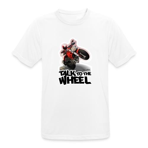 Ducati Monster Wheelie B - Camiseta hombre transpirable