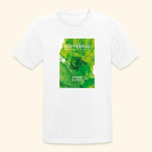 Wuida Hund - Männer T-Shirt atmungsaktiv