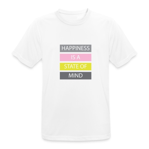 Happiness - Men's Breathable T-Shirt