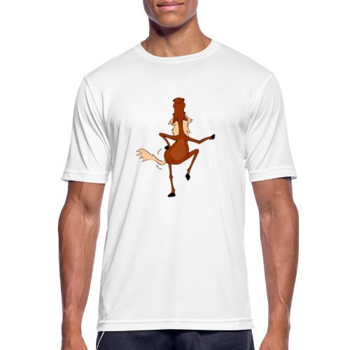 Tanzpferd - Männer T-Shirt atmungsaktiv
