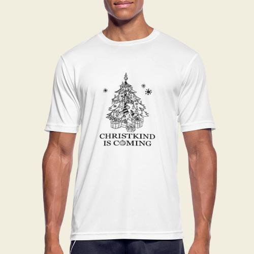 Christkind kommt - Männer T-Shirt atmungsaktiv