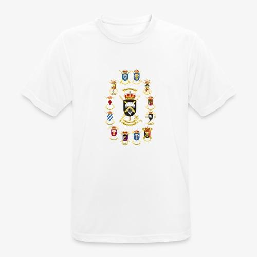 UNIDADES BRIPAC - Camiseta hombre transpirable