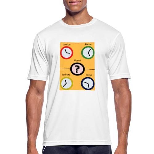 Zegary - Koszulka męska oddychająca