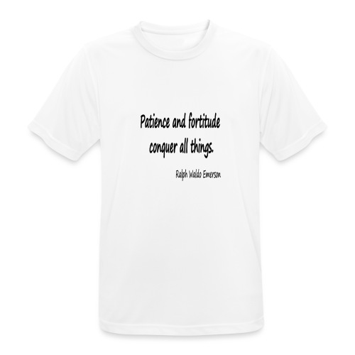 Peace and Patience - Men's Breathable T-Shirt