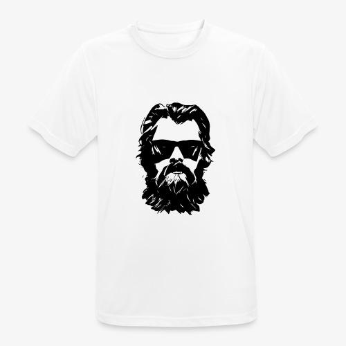 beardface - Männer T-Shirt atmungsaktiv