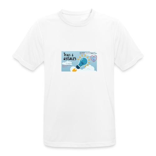 astuces mansour - T-shirt respirant Homme