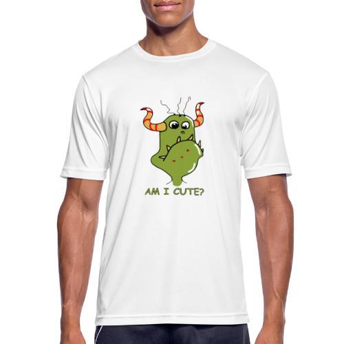 Cute monster - Men's Breathable T-Shirt