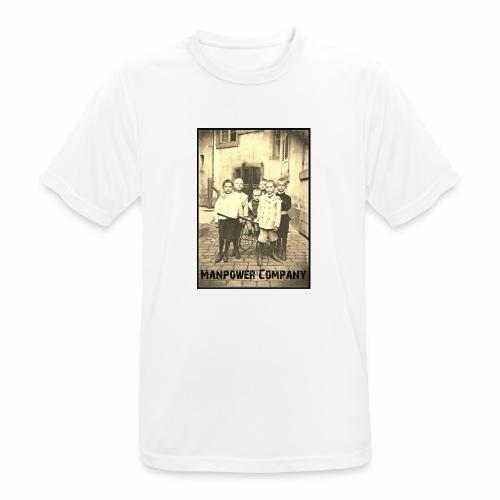 Manpower Company - Männer T-Shirt atmungsaktiv