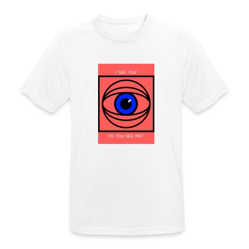 I SEE YOU! DO YOU SEE ME? - Andningsaktiv T-shirt herr