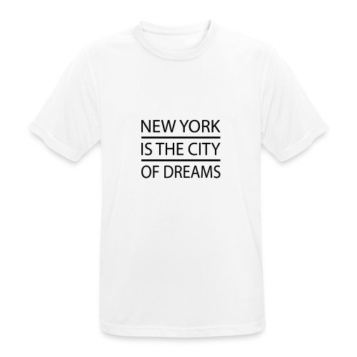 New York City - Men's Breathable T-Shirt