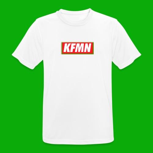 -KFMN- Boxed Design - Männer T-Shirt atmungsaktiv