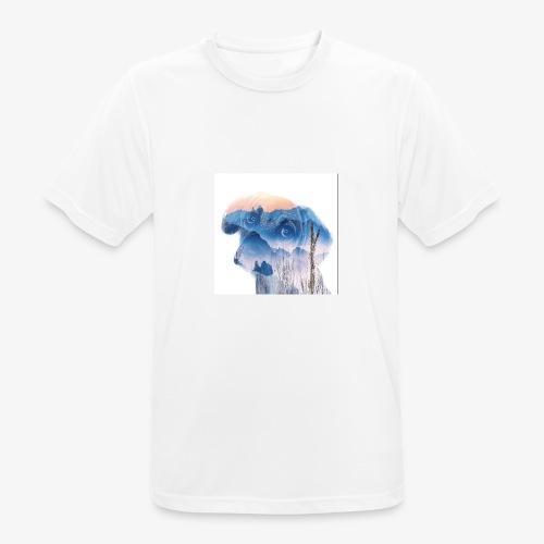 Süsser Hund - Männer T-Shirt atmungsaktiv