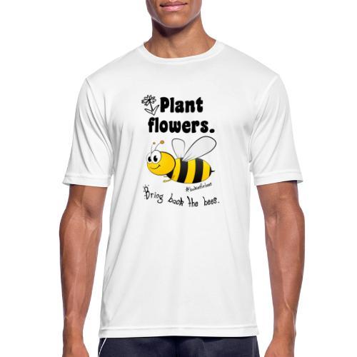 Bees8-1 Bringt die Bienen zurück! | Bookrebels - Men's Breathable T-Shirt