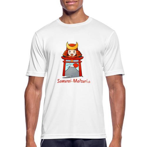Samurai Matsuri Torii - Männer T-Shirt atmungsaktiv