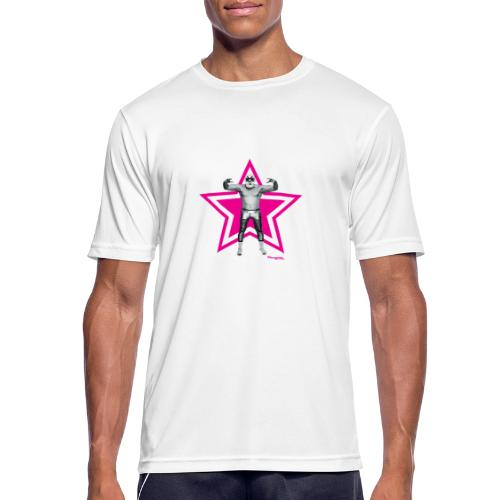Hazy Logo - Männer T-Shirt atmungsaktiv