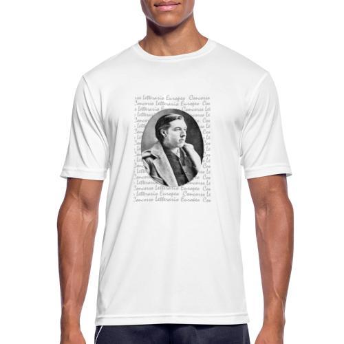 wilde vintage 8731 - Maglietta da uomo traspirante