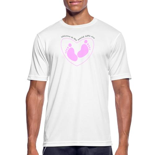 welcome to the world - Men's Breathable T-Shirt