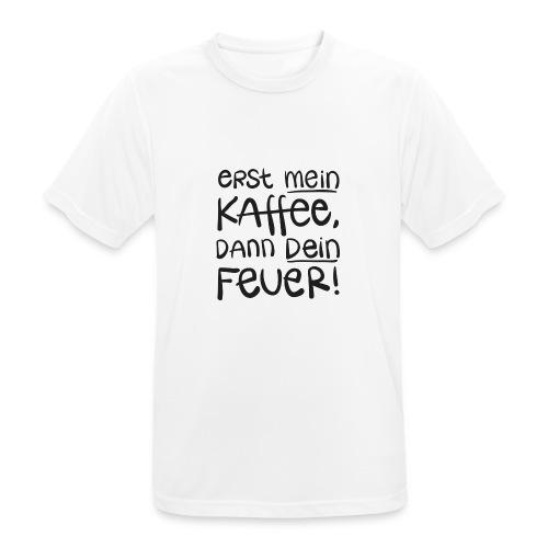 Tassentext - Männer T-Shirt atmungsaktiv