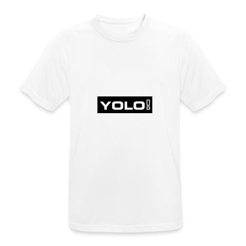 Yolo merch - Männer T-Shirt atmungsaktiv