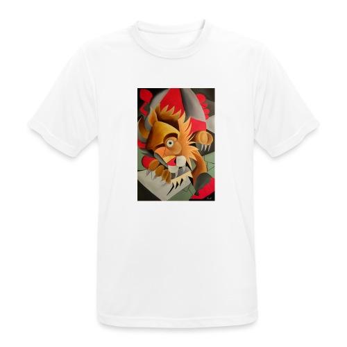 leone - Maglietta da uomo traspirante