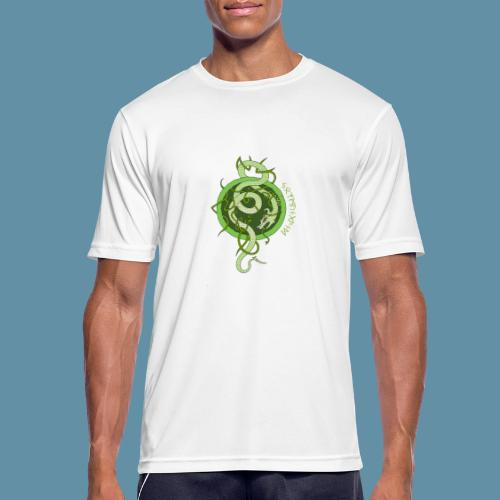Jormungand logo png - Maglietta da uomo traspirante