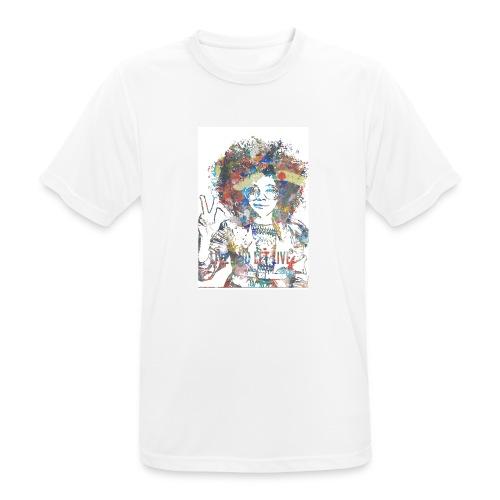 Live and let live, Geschenkidee - Männer T-Shirt atmungsaktiv
