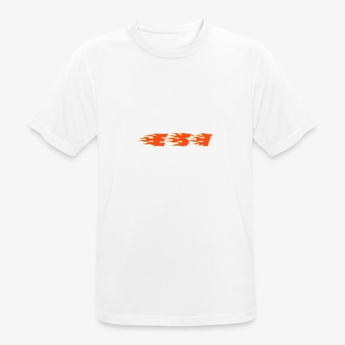 Flame - Mannen T-shirt ademend actief