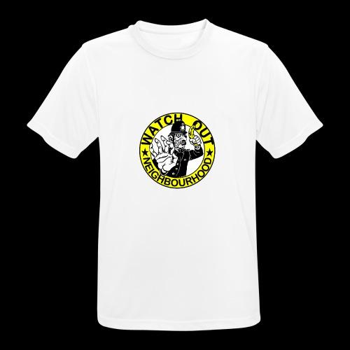 Neighbourhood Watch.. Out - Men's Breathable T-Shirt