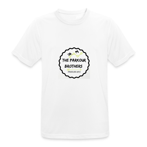 the_brothers_parkour - mannen T-shirt ademend