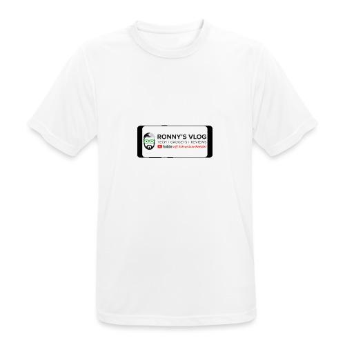 Galaxy S8 by Ronny's Vlog - Männer T-Shirt atmungsaktiv