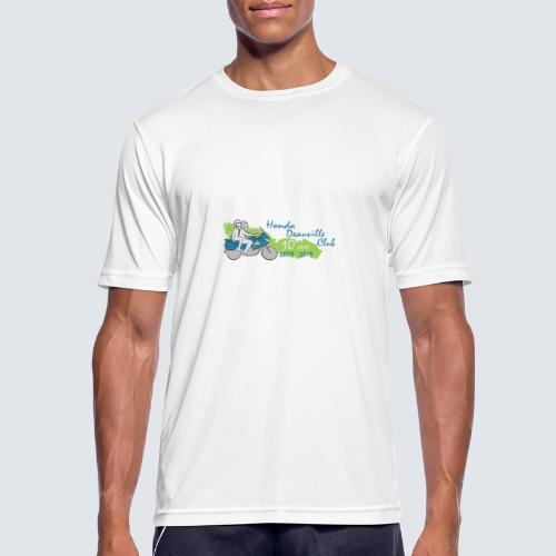 HDC jubileum logo - Mannen T-shirt ademend actief