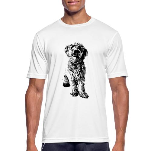 Golden Doodle Hunde Design Geschenkidee - Männer T-Shirt atmungsaktiv