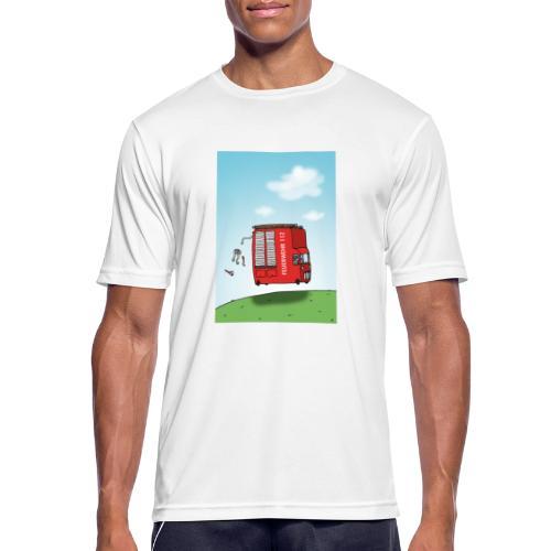 Feuerwehrwagen - Männer T-Shirt atmungsaktiv